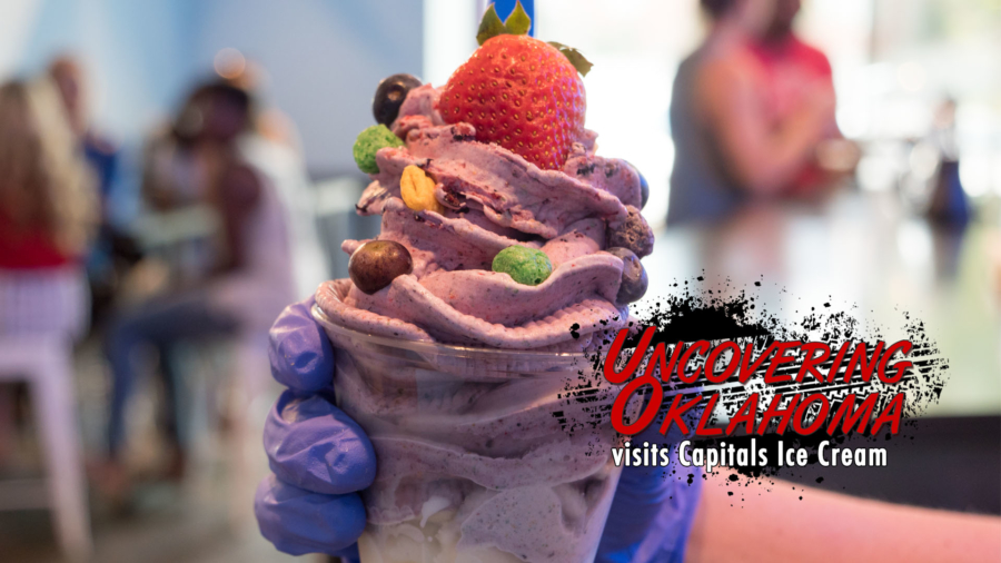 Capitals Ice Cream visited by Uncovering Oklahoma